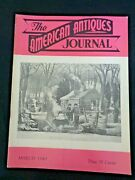 1949 American Antiques Journal Papier Mache Chess Table Chinese Rug Symbols Doll