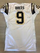 Drew Brees Signed Autographed Authentic Game Issued Rookie Season Reebok Jersey