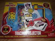 Mickey Mouse Tracing Projector Age 3+ Trace And Color W/projector Disney Junior