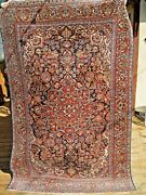 Antique 1910 Estate Fine Rug With Good Pile Great Colors