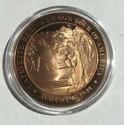 Lafayette Hero's Tour History Of United States Medal Franklin Mint M-403