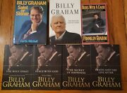 Billy Graham And Franklin Graham Lot Of 7 Books