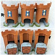 3 X Thomas Trackmaster Castle Track Accessory Extra From Castle Quest Set