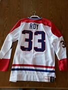 Patrick Roy Montreal Canadiens Autographed Jersey Upper Deck