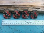 1931 Cadillac Hub Cap Crests Maybe 1920s - 1930's Hub Cap Grille Medallions