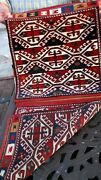 Exceptional 1890-1900 Antique Caucasian Kuba Saddle Bag Highly Collectible