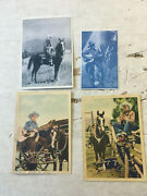 Gene Autry And Roy Rogers Huge Photo And Arcade Card Lot