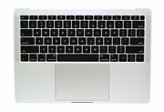 Apple Macbook Air A1932 Silver Keyboard Palmrest Trackpad Battery And Speakers A-