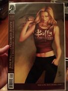 Lot Of 9 Buffy The Vampire Slayer Comics In Vf To Nm Condition. Rare Foil Logo1