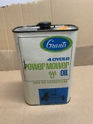 Grants 4 Cycles Power Mower Full Oil Can