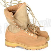 Canadian Army Desert Boots Hot Weather - 6.5 Wide - New - 1690r138c