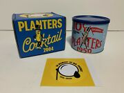 New 1950 Planters Cocktail Peanuts Collectible In Memory Of Mr. Peanut Pennant