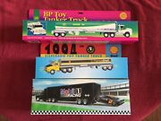 3- Collectible Toy Trucks Collection Mobil 1 Bp Shell L👀k 1994