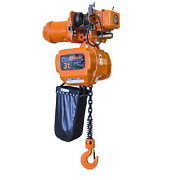 Prowinch 3 Ton Electric Chain Hoist With Electric Trolley 30ft Lifting Height G1
