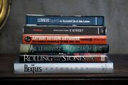 6 Collectible Rock-n-roll Coffee Table Books Beatles-stones-lennon-springsteen