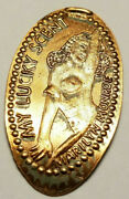 Elongated Rolled Pressed Penny One Cent Nude Marilyn Monroe My Lucky Scent Coin