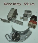 Delco Remy Ark-les Misc. Lot Switch Dial Steering Wheel Shift Bracket Original