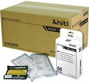 Hiti 4x6 50 Prints Photo Paper And Ribbon Pack For S400/s420 Printer 12 Pack
