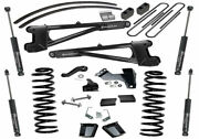 Superlift 8 Lift Kit For 11-16 F250 / F350 4wd Dsl W/ Radius Arms And Sl Shocks