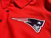 Authentic Nike Nfl Equipment New England Patriots Dri-fit Red Golf Polo Shirt