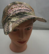 Remington Hat Camo Stitched Adjustable Baseball Cap Pre-owned St197