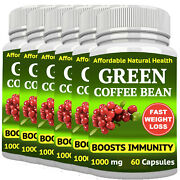 Green Coffee Bean Extract Weight Loss 1000 Mg Antioxidant Diet Detox 360 Capsule