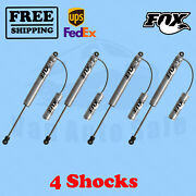 Fox Shocks Kit 4 0-1 Lift For Ford F450 - Cab Chassis/utility 99-04