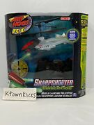 Air Hogs Rc Helicopter Sharpshooter Missile Launching Tracer Fire Edition