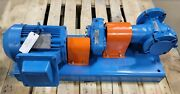 Viking Hl4193 Gear Pump 30 Gpm @100psi, Gear Reducer, 1 Hp Explosion Proof Motor