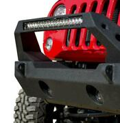 Dv8 Offroad Stubby Front Bumper Incl Winch Plate D-rings For Jeep Jk / Jl