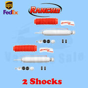 Rancho Rs5000x Front 0 Lift Shocks For Ford Bronco 4wd 1978-79 Kit 2