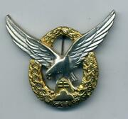 Wwii Slovakian Pilots Badge As Worn By German Luftwaffe Members And Her Allies