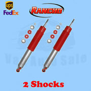 Rancho Rs9000xl Front 1-2.5 Lift Shocks For Gmc Sierra 2500hd 4wd 01-10 Kit 2