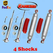 Rancho Rs9000xl Frontandrear 4 Lift Shocks For Chevy Tahoe 4wd 07-14 Kit 4