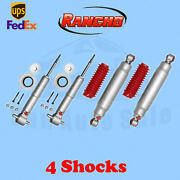 Rancho Rs9000xl Frontandrear 0 Lift Shocks For Chevy Tahoe 4wd 07-14 Kit 4
