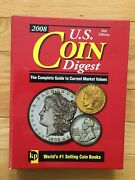 Spiral Bound Book 2008 U.s. Coin Digest The Complete Guide To Coin Values