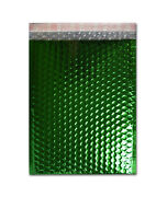 2500 Pieces Glamour Green Metallic Poly Bubble Padded Mailer 7 ½ X 11 Inches