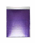 2500 Pieces Glamour Purple Metallic Poly Bubble Padded Mailer 7 ½ X 11 Inches