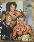 Pwc Exclusive Rock N Roll Express Gibson And Morton Autograph With Coa - Jcp Nwa