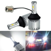 A1 Auto 2x P21w 1156 Led Back Up Reverse Light 30w Extremely Bright 6000k White