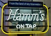New Hammand039s On Tap Neon Sign 20x16 Beer Cave Artwork Gift Real Glass Handmade