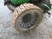 Steel Tractor Wheels With Steel Treads Amish Tractor Wheels John Deere Case