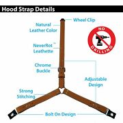 3 Point Spare Tire Strap Fits Vintage F1 Foreign Adjustable Tie Down Buckle Mg