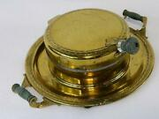 Manning Bowman Means Best Antique 1928 Gold Finish Electric Waffle Iron