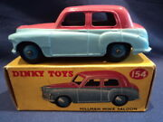 Dinky 1950and039s Very Rare Hillman Minx Saloon No 155 N/mint Ex Shop Stock