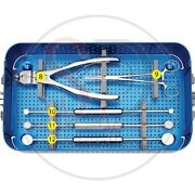 Instrument Set For Titanium Mesh Cage By Sandd Of Best Quality.