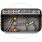 6.5mm Cannulated Screw Instrument Set By Sandd Of Best Quality.