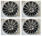 4pc 19 Black S63 Amg Style Rims Wheels Fits Benz E350 Cls500 Cls550 Staggered N