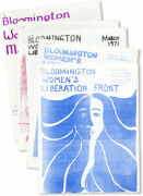 Bloomington Womenand039s Liberation Front-5 Issues Jan-may1971-feminist Mimeo Zine