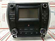 2015 2016 2017 Toyota Camry Radio With Heater Ac Climate Controls Oem